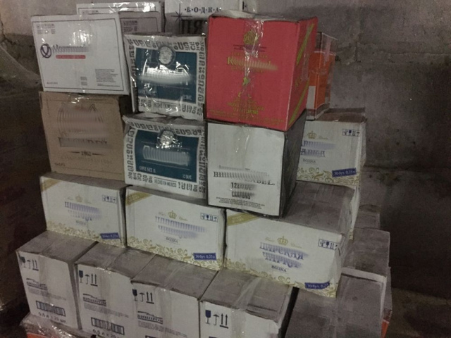 Гражданин Киржача пытался реализовать неменее тысяча бутылок контрафактного алкоголя